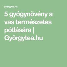 5 gyógynövény a vas természetes pótlására | Györgytea.hu