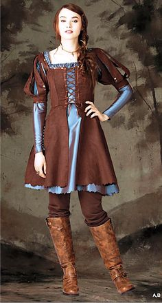 Renaissance Hunter Costume by BouChicDressmakers on Etsy, $80.00