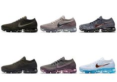 The Nike VaporMax will release in 7 brand new colorways starting June 29th. Check out all of the Nike VaporMax looks here and stay tuned for more updates: Shoes Nike Adidas, Nike Basketball Shoes, Sneakers Nike
