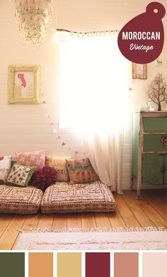 branch curtain rod - big girl room - could even be used in the place of a closet door