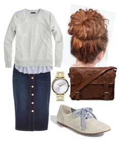 """Cricket girl"" by charmingjewels ❤ liked on Polyvore featuring BP., River Island, VIPARO, J.Crew and Nixon"