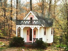 When it comes to miniature houses, make-believe trumps the rest. Find your dream playhouse in our gallery.
