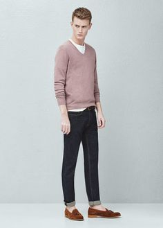 Cultures Hommes: Pull Mango Homme