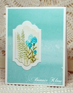 Flowering Fields | Stamping with Klass | Bloglovin'