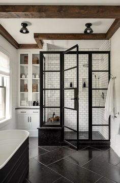 Get tips and a few suggestions for the bath, regardless if you are considering motivation for a renovation or tips for organization and storage. #modernBathroom Interior Modern, Home Modern, Modern Decor, Mid-century Modern, Interior Design, Home Interior, Modern Loft, Modern Industrial, Modern Luxury