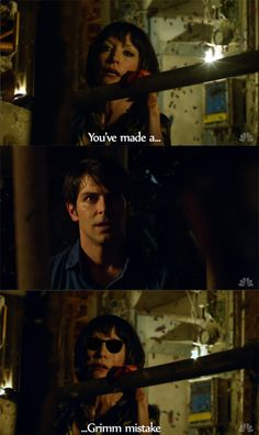 "grimm nbc ""You've made a Grimm mistake"""