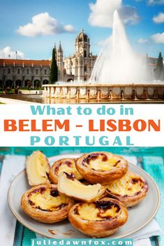 Not sure what to do in Belém, Portugal? Here's the answer! My expert guide tells you all you need to know about this beautiful part of Lisbon, Portugal's vibrant capital. Medieval monuments, cool museums, delicious Portuguese food...take in the well-known sights as well as the unexpected: read on to find out more! #Lisbontraveltips #Portugaltravelideas #Europetraveldestinations