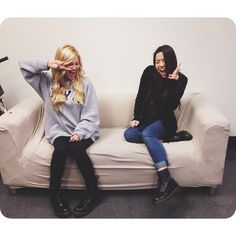 Olivia Holt and Piper Curda exchange dressing style