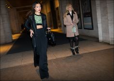 The Urban Vogue: Black Slacks…NYFW 2-2015