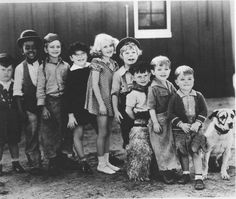 The Little Rascals  My favorite is where the wild man escapes and they think he's Spanky's uncle.