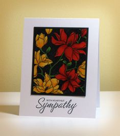 FS312 Sympathy Card by swldebbie - Cards and Paper Crafts at Splitcoaststampers