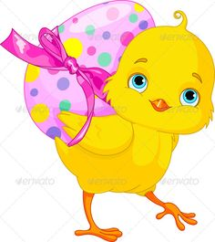Easter Chicken with Pink Egg Clipart Happy Easter, Easter Bunny, Easter Eggs, Easter Chick, Penny Parker, Easter Wallpaper, Cartoon Birds, Cartoon Clip, Royalty Free Clipart