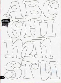 sonjareidenjoy - 0 results for lettering fonts Letter Patterns, Felt Patterns, Embroidery Patterns, Motifs D'appliques, Alphabet Templates, Applique Letters, Drawing Letters, Creative Lettering, Printable Letters