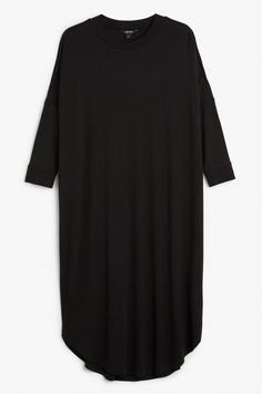 Monki Image 1 of Oversize dress in Black