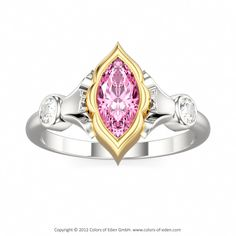 Solitaire Engagement Ring EYE OF SHIVA #engagement #ring