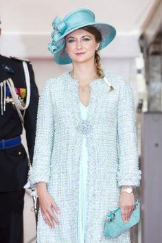 Hereditary Grand Duchess Stéphanie, June 23, 2013 | The Royal Hats Blog