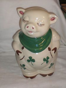 antique cookie jars - I have this from my grandmother!