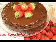 Νηστίσιμη τούρτα σοκολάτα / Τούρτα σοκολάτας VEGAN - YouTube Sweet Cooking, Tiramisu, Pudding, Healthy Recipes, Cake, Ethnic Recipes, Desserts, Cooking Ideas, Food
