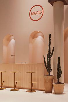 斯德哥尔摩家具展厅:Magis与Note的首次合作 - 谷德设计网