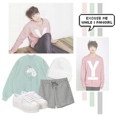 Jeon JungKook by lazy-alien on Polyvore featuring Chicnova Fashion, Monki, Jeffrey Campbell, Topman, bts, jungkook and kookie