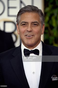Actor George Clooney attends the 72nd Annual Golden Globe Awards at The Beverly Hilton Hotel on January 11, 2015 in Beverly Hills, California.