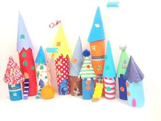 CrafTea: Paper Tube Kids Craft Castle