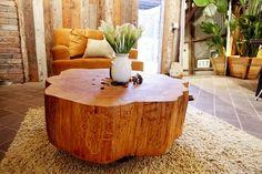 crosscut wood tabletop