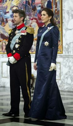 MYROYALS &HOLLYWOOD FASHİON: New Year's Reception for diplomats at Christiansborg Palace-Crown Prince Frederik and Crown Princess Mary