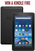 Kindle Fire Giveaway  Open to: United States Ending on: 08/19/2016