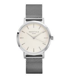 Montre The Tribeca White Silver - ROSEFIELD