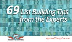 69 List Building Tips from the Experts