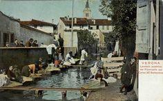 Verona - Lavatoio pubblico primi 900