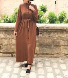 Modern Hijab Fashion, Muslim Women Fashion, Islamic Fashion, Abaya Fashion, Fashion Outfits, Casual Hijab Outfit, Hijab Chic, Hijab Wear, Hijab Style Tutorial