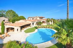 Luxury Provencal Property With Tennis Court And Sea View For Sale In The  South Of France