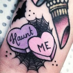 Emily-Rose My new addition by lovely @alexandrarose_str  thank you so much!! #candyhearts #wednesday13…""