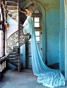 Lily Cole in Vogue UK July 2005 Photographed by: Tim Walker . Develop the presence of a model! Click the pic...