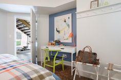 Desk Area in DIY Network Blog Cabin 2015 Guest Bedroom