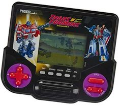 Tiger Electronics Transformers Robots in Disguise Generation 2 Electronic LCD Video Game Retro-Inspired 1 Player Handheld Game Ages 8 and Up Optimus Prime, Transformers Characters, Transformers Robots, Stages Of Play, Handheld Video Games, Underwater Painting, Vintage Games, How To Introduce Yourself, Amazon