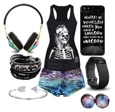 Untitled #65 by mad-hatter-gone-insane on Polyvore featuring Trend Cool, Bling Jewelry, Fitbit and Frends