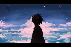 Sad Anime, Anime Love, Anime Guys, Manga Art, Manga Anime, Anime Art, Aesthetic Art, Aesthetic Anime, Anime Scenery Wallpaper