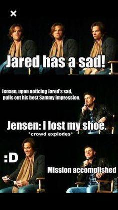 Jared has a saaaaaaad.