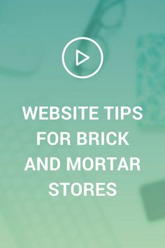Do you run a brick and mortar store? If you have a physical store for your business, you need to make sure your website is top notch! In this video, I'll share some website tips for your brick and mortar store.