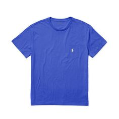 Polo Ralph Lauren Classic-Fit Cotton Pocket Tee ($30) ❤ liked on Polyvore featuring men's fashion, men's clothing, men's shirts, men's t-shirts, mens crew neck t shirts, mens short sleeve t shirts, j crew mens shirts, mens pocket t shirts and mens cotton shirts