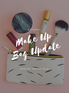 Add your favorite touch oils to your makeup bag. The roll on bottles make for easy application. Some of our favorite oils for skin care are Rose Touch, Immortelle Blend, and HD Clear® roll on.