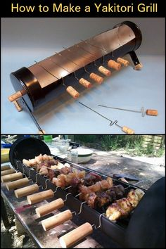 Now how about some Japanese yakitori on your next backyard party? Now how about some Japanese yakitori on your next backyard party? Oven Diy, Diy Grill, Grill Party, Outdoor Oven, Outdoor Cooking, Churros, Farm Restaurant, Roasted Pork Tenderloins, Pig Roast
