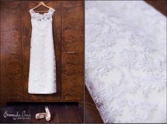 Very Delicate French Lace wedding dress by Katleen Amazonas