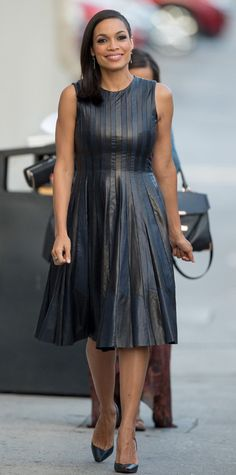 Look of the Day - August 3, 2014 - Rosario Dawson in Lie Sang Bong from #InStyle