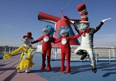 Dr. Seass per i piccoli ospiti di Carnival Cruise line