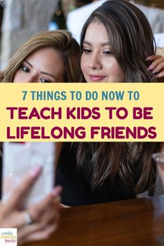 Mothers dream of seeing their kids being best friends long after she is gone.These 7 ways to teach your kids to be friends for life help make it a reality. Natural Parenting, Gentle Parenting, Parenting Advice, Kids And Parenting, We Are Best Friends, Sibling Rivalry, Trying To Get Pregnant, Attachment Parenting, Help Teaching