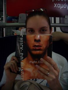 The Woman On The Train: You never know what you'll encounter on a train in Greece. #travel #fight club #reading